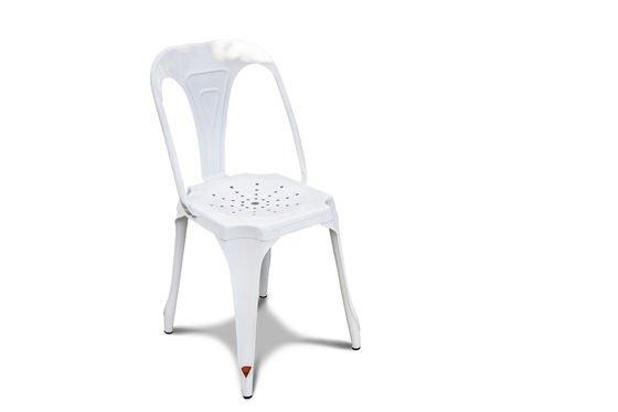 Chaise Multipl's blanche Détouré