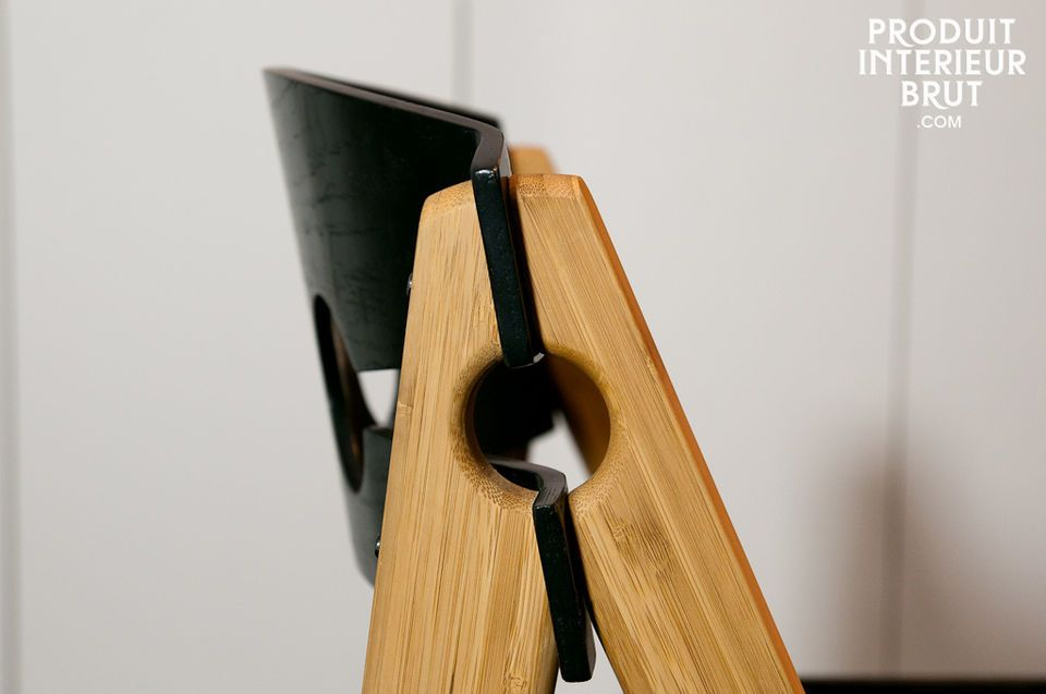 Une chaise robuste et légère au look rétro