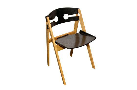 Chaise noire Numéro 1 Détouré