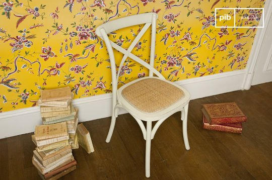 Chaise Pampelune crème