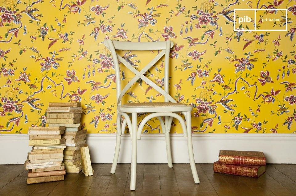 Un coloris doux, pour une chaise robuste et confortable