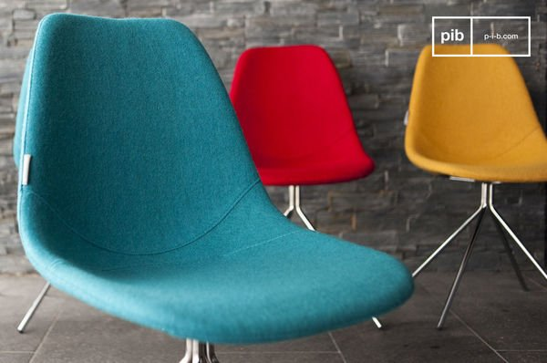 Chaise Piramis Bleue Details
