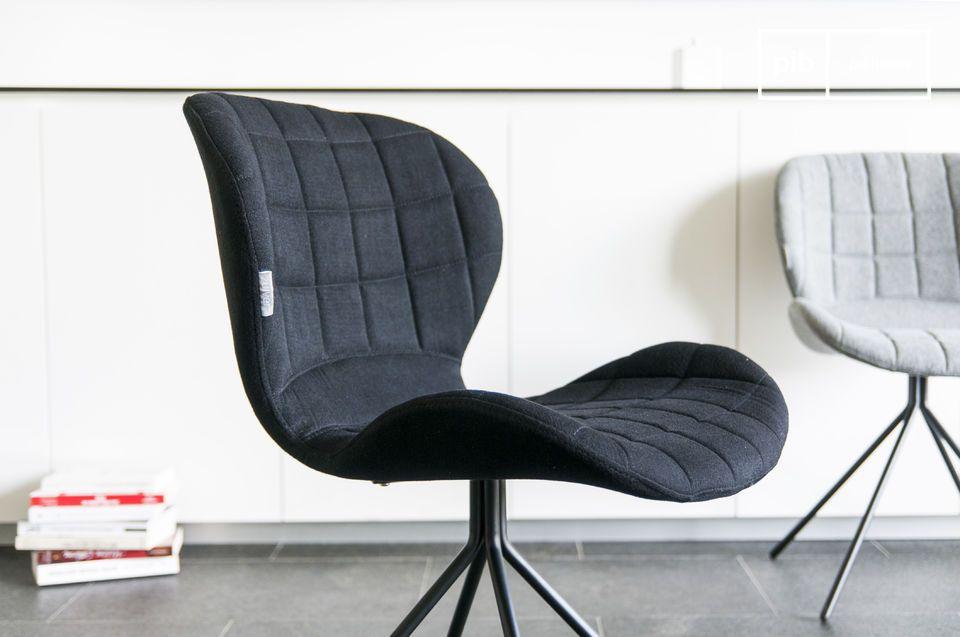 La chaise moderne Hetsik propose une association parfaite de ce que l\'on peut attendre d\'une