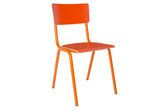 Chaise Skole orange