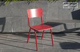 Chaise Skole rouge