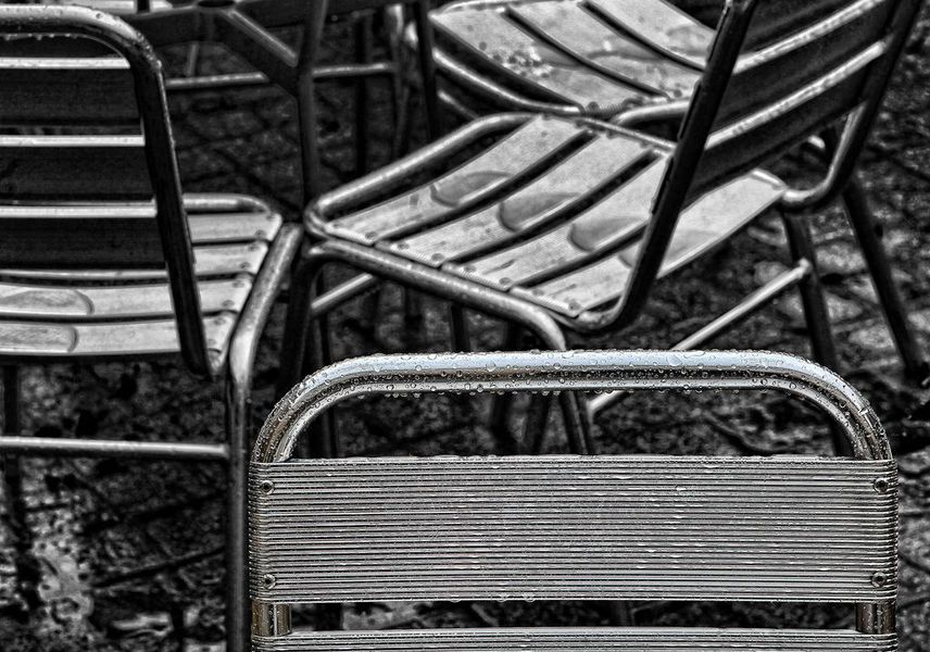 Chaise terrasse style Luxembourg