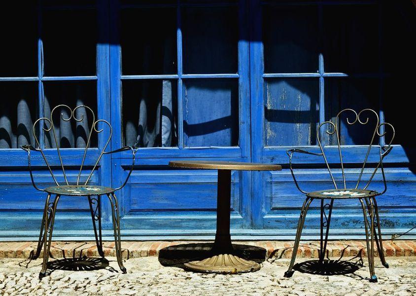 Chaises métal d'extérieur