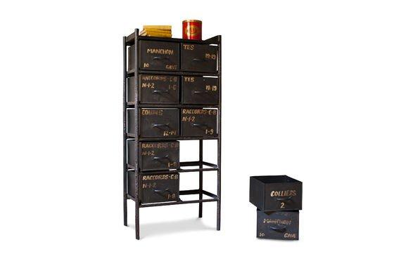Commode d'atelier 10 tiroirs Détouré