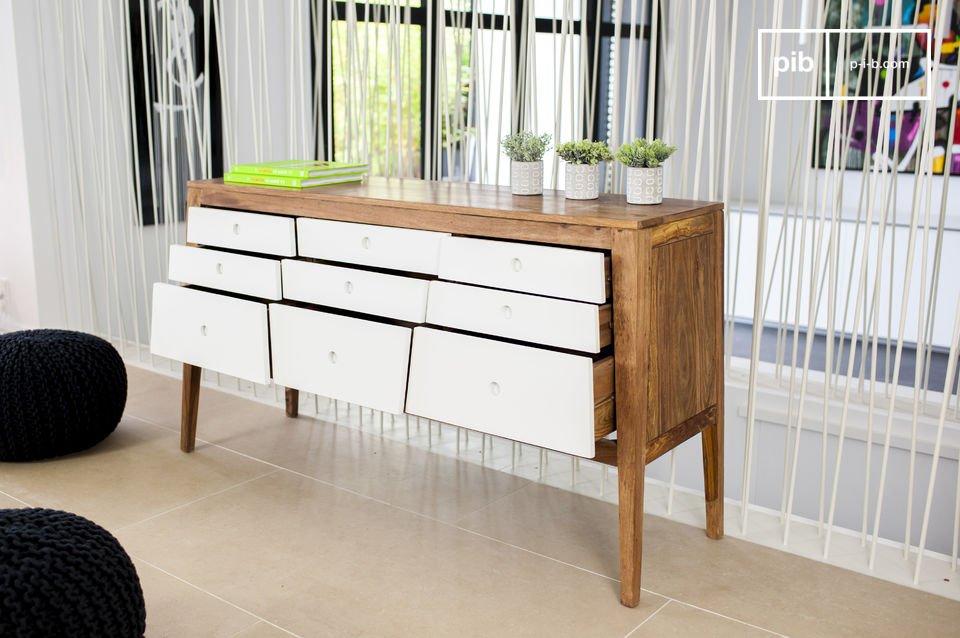 Style graphique et élégance du meuble nordique