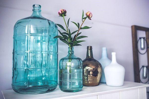 Composition de vases tendances