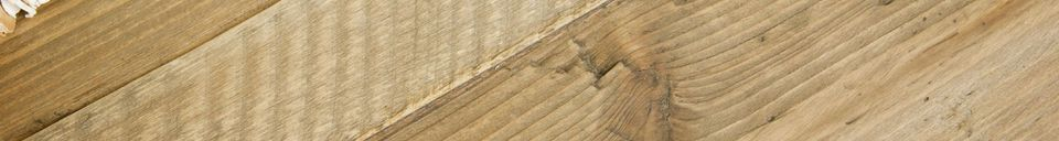 Mise en avant matière Console en bois Cadynam