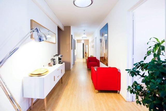 Couloir aménagé design