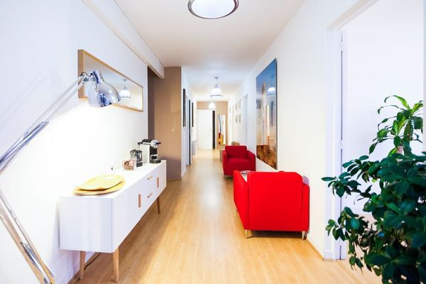 couloir moderne et design