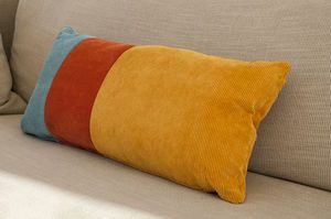 Coussin tricolore Mathis