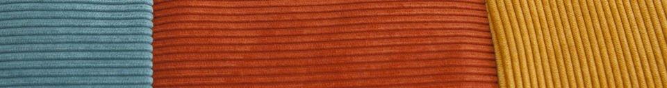 Mise en avant matière Coussin tricolore Mathis