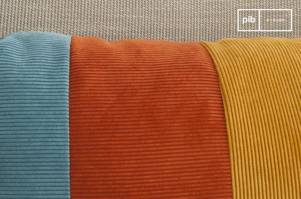 Douceur du velours côtelé, et coloris rétros
