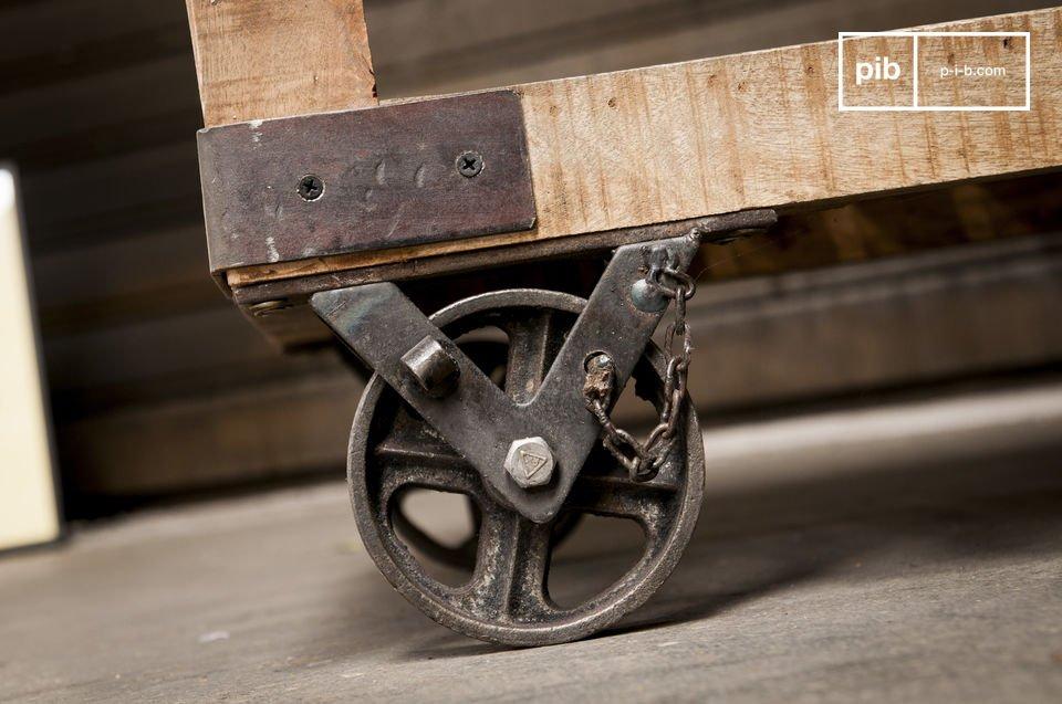 Le cachet et la robustesse du mobilier d'atelier