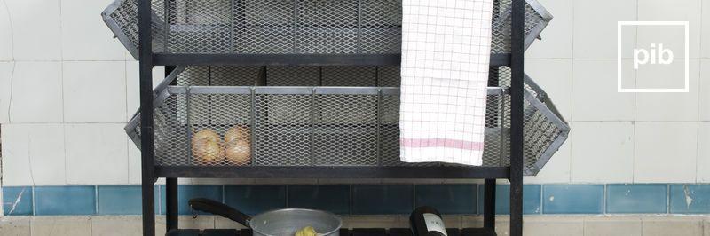 Dessertes à roulettes campagne bohème bientôt de retour en collection