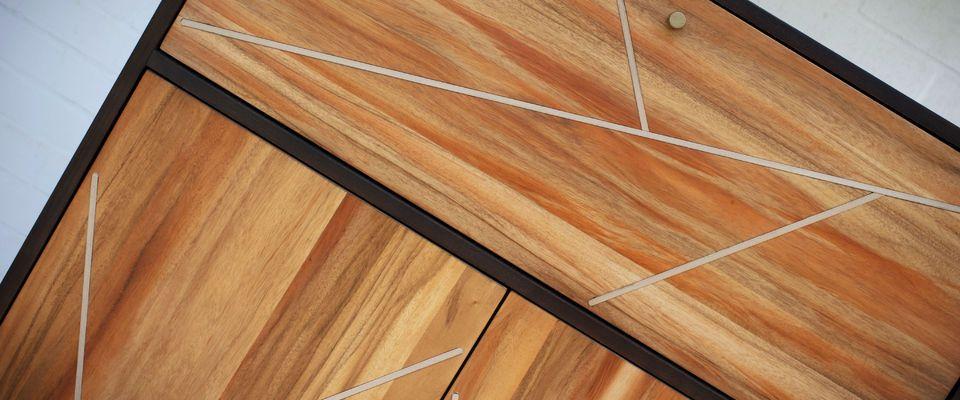 armoire en bois scandinave Linea