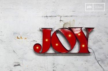 Enseigne lumineuse Joy