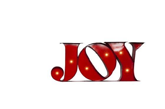 Enseigne lumineuse Joy Détouré