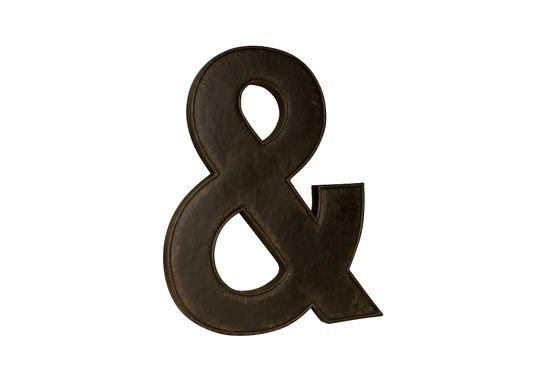 esperluette fa on lettre d 39 enseigne pib. Black Bedroom Furniture Sets. Home Design Ideas
