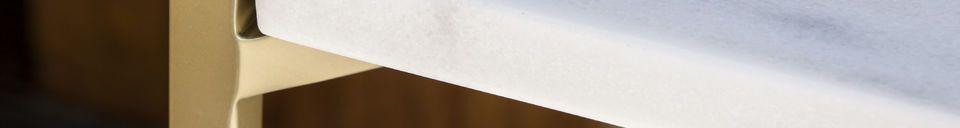Mise en avant matière Etagère quatre plateaux Bylille