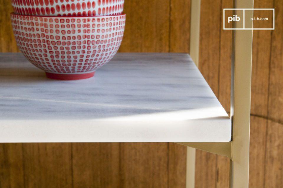Les lignes claires et le design en toute simplicité évoquent les basiques du style scandinave