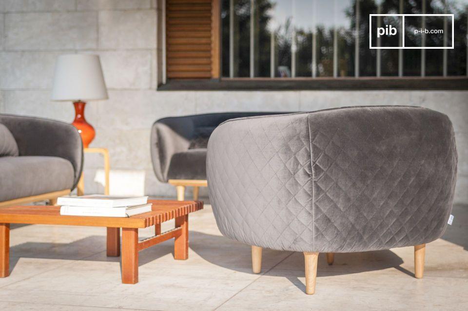 Une forme enveloppante qui procure un confort et une esthétique unique