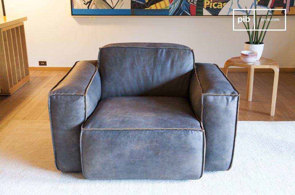 Le fauteuil cuir Atsullivan est un modèle à part
