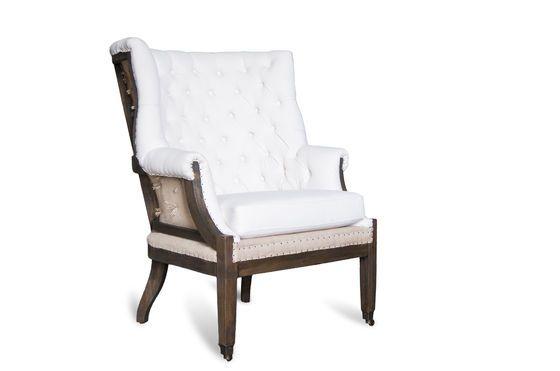 fauteuil baroque cambridge design capitonn pib. Black Bedroom Furniture Sets. Home Design Ideas