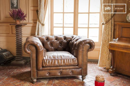 Fauteuil Chesterfield Saint Paul