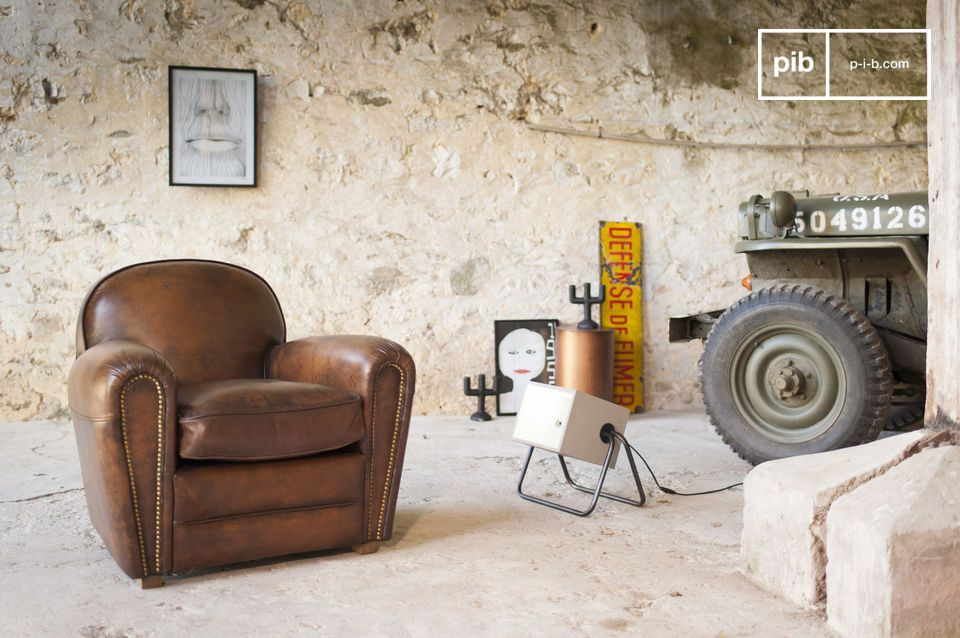 Fauteuil Club English Coffee