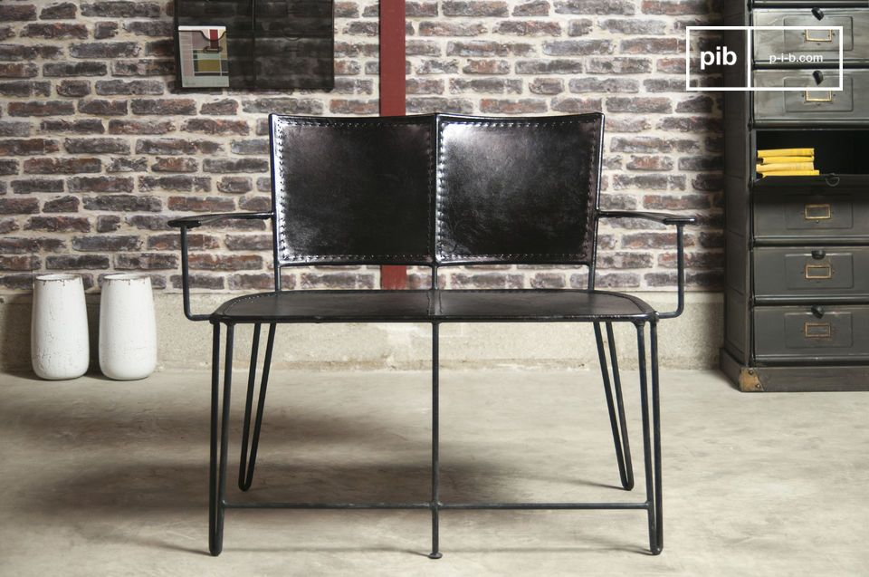 fauteuil double italia par hanjel athezza pib. Black Bedroom Furniture Sets. Home Design Ideas
