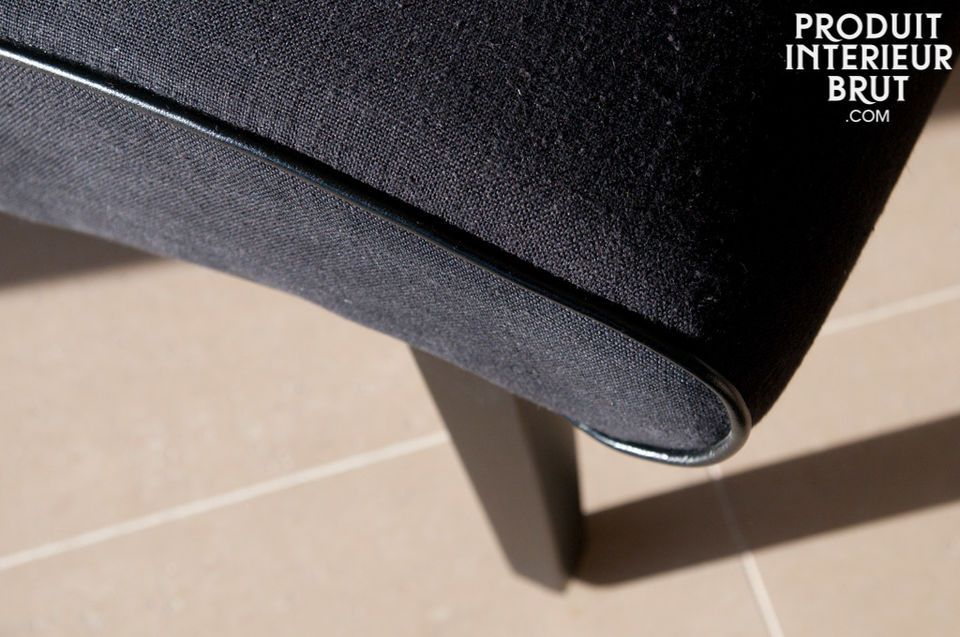 Look 50's, robuste et confortable. Existe aussi en d'autres coloris