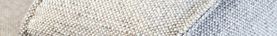 Mise en avant matière Fauteuil en tissu Silkeborg