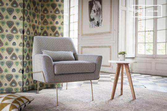 Fauteuil lounge Hilda
