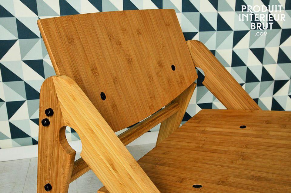Une ligne scandinave légère, une conception 100% bois de bambou