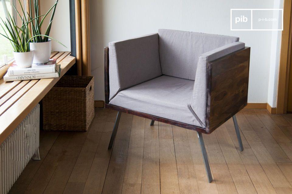 Un fauteuil original, compact et élégant