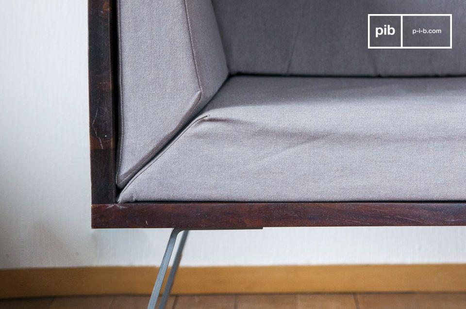 Le fauteuil lounge Odéon apportera un souffle vintage à la déco de votre salon