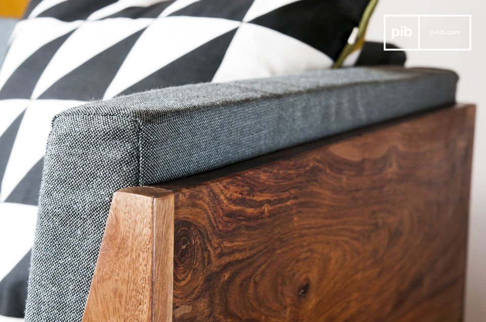 Le fauteuil Mabillon apportera un souffle scandinave vintage à la déco de votre salon ou de votre
