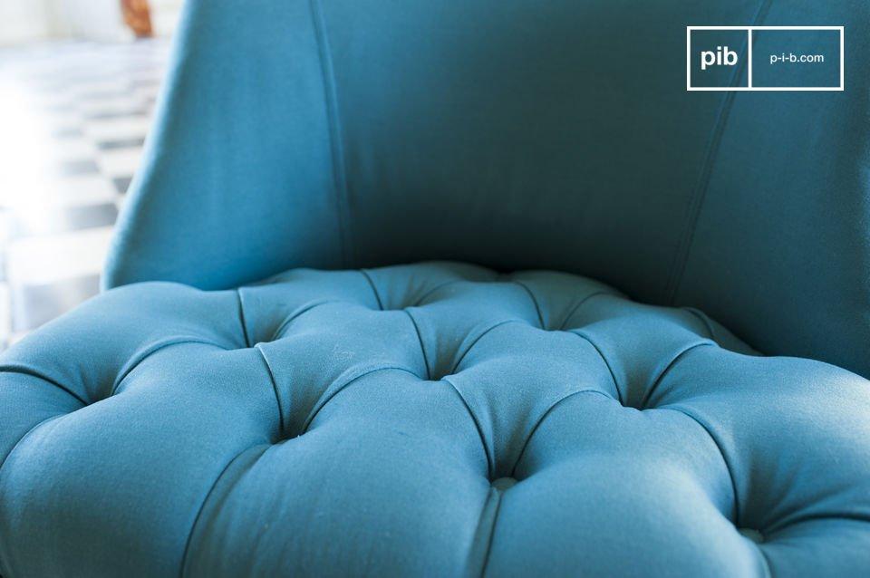 Le charme d'un siège haut en couleur
