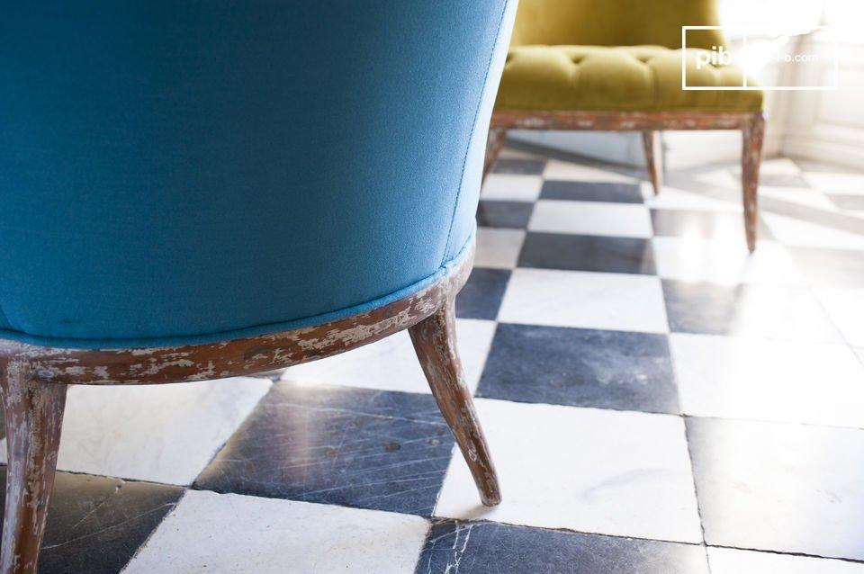 Le fauteuil Popador est un meuble séduisant et confortable dont les couleurs sauront apporter de la