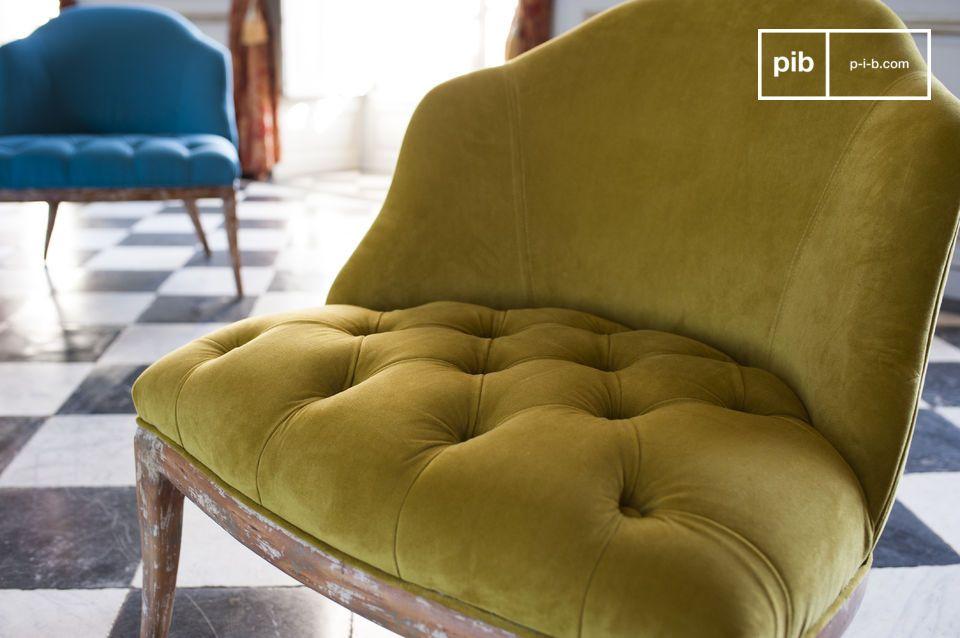 Un coloris reposant pour un fauteuil qui l'est tout autant