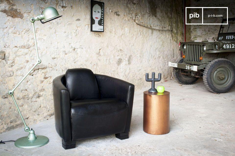 Un fauteuil aviateur de qualité, 100% cuir pleine fleur