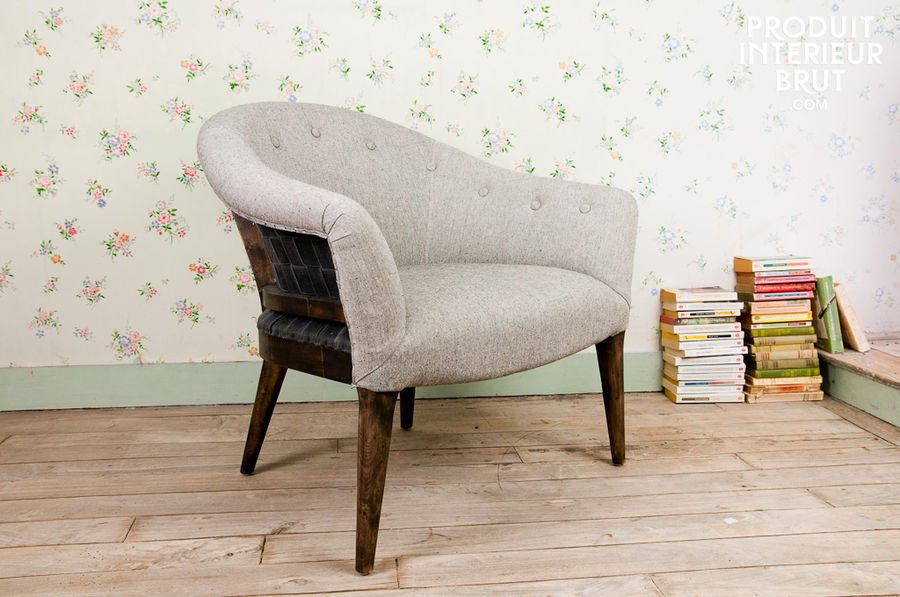 Fauteuil style campagne