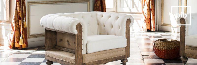 Fauteuils et chaises style rustique