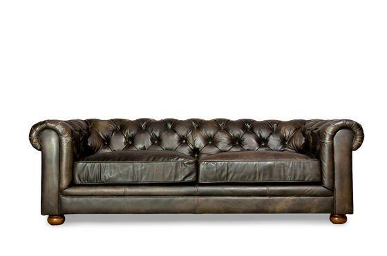 Grand canapé Dark Chesterfield Détouré
