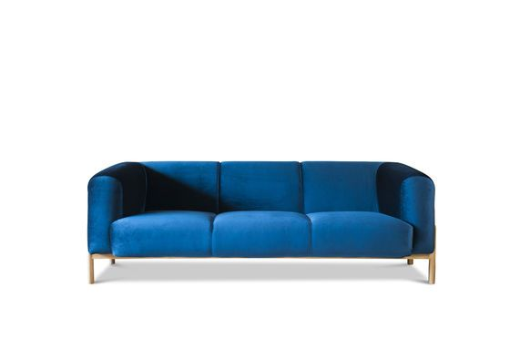 Grand canapé en velours Viela Détouré