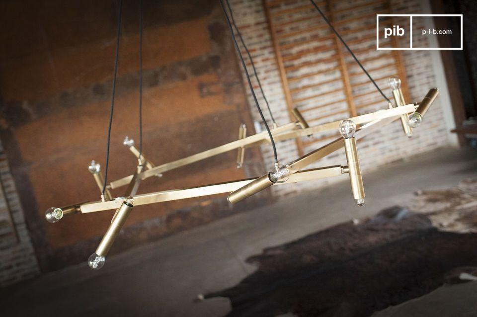 Le luxe du laiton doré illuminera salon ou salle à manger de sa teinte chaude